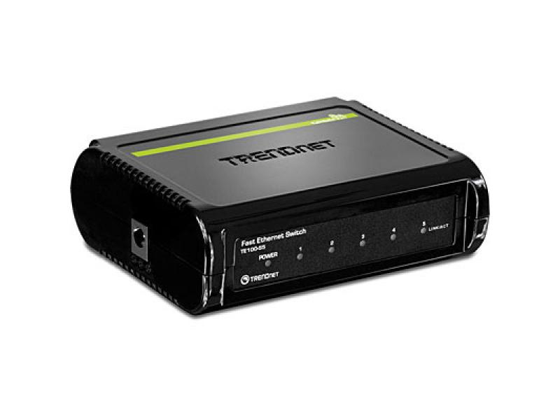 Imagen 5-Port 10/100Mbps Fast Ethernet Switch 2