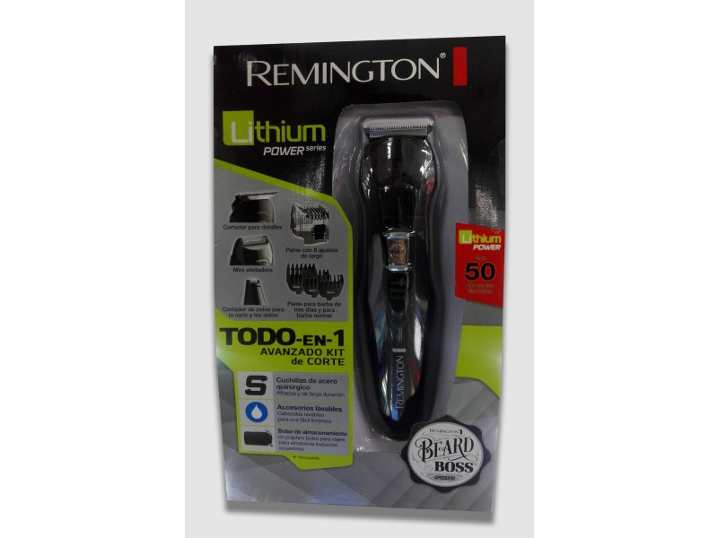 Afeitadora Barba Remington Todo en 1 Recargable Lithium  Pg6025 ... ed1143db7264