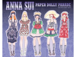 Imagen Anna Sui Paper Dolly  - Parade Notecard Set