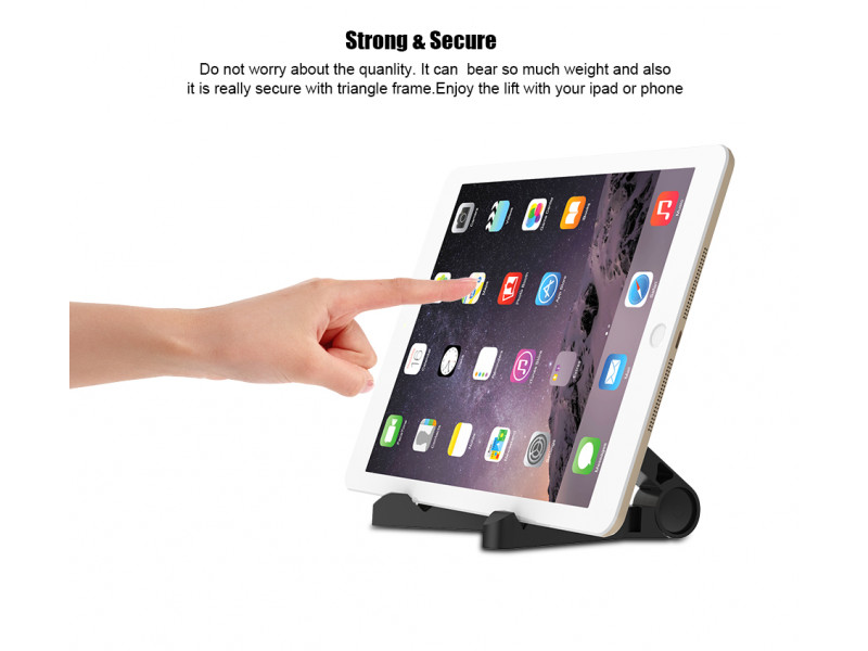 Imagen Base Soporte Universal Ipad Tablet Plegable Holder Portatil 8