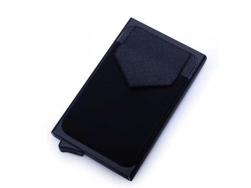 8ee7cca8f Billetera Cartera Aluminio Proteccion RFID QB0097 Negro: PS2606 ...