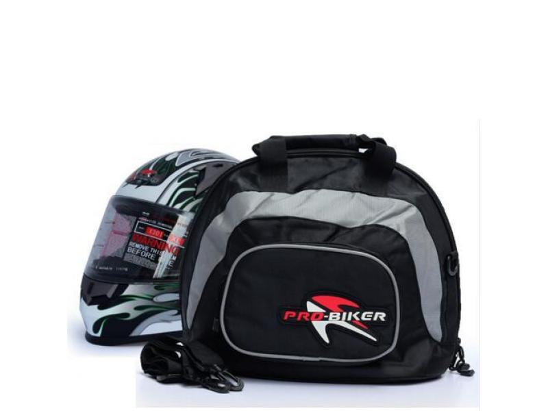 Imagen Bolso Portatil Impermeable Moto Casco Color Negro 3