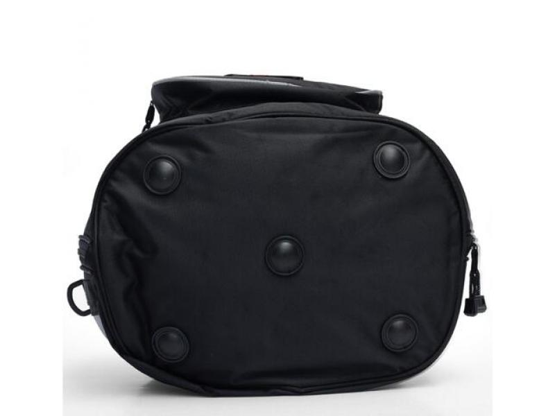 Imagen Bolso Portatil Impermeable Moto Casco Color Negro 5