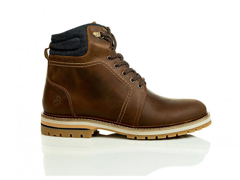 1bd9b435ec BOTA DE CUERO HOMBRE  18101-207 Zapatos Boóz