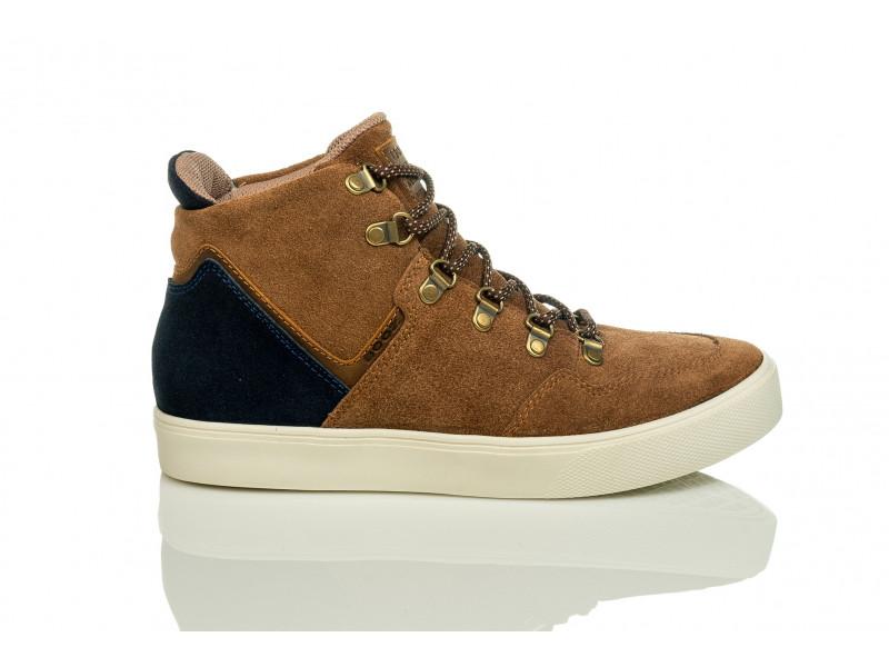 3941835875 BOTAS DE CUERO HOMBRE  18101-201 Zapatos Boóz