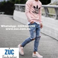 Enredo ejemplo homosexual  Buzo adidas palo de rosa estampado: 109 zuc