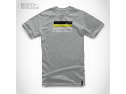 Imagen Camiseta Alpinestars News Grey/Black/Green
