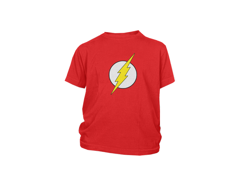 4cb5c8190 Camiseta Flash (Nino a)  CDC0405N Capsule Corp.