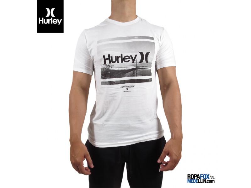 44c4c963572e0 Camiseta Hurley Lost Tee Blanco  REF 01243