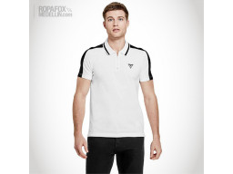 Imagen Camiseta Polo Guess Bundy White/Black