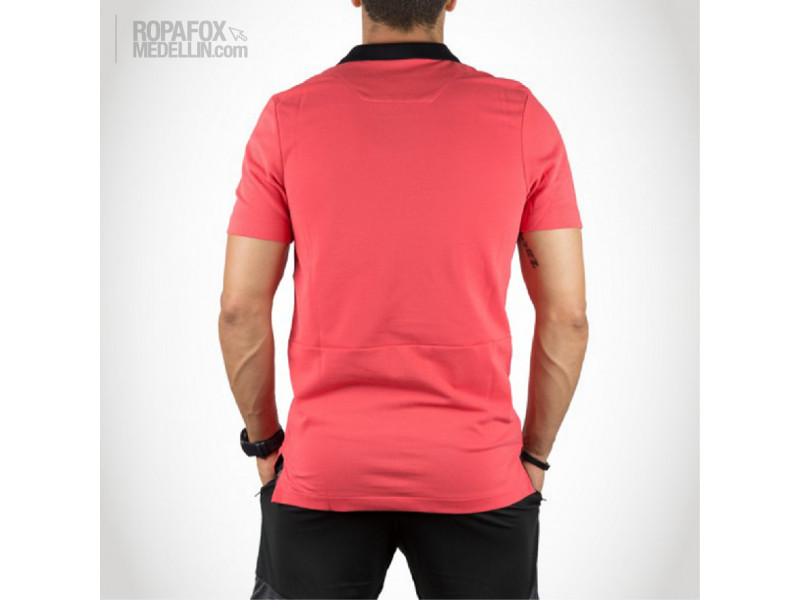 Imagen Camiseta Polo Nike Advanced Salmon/Black 2