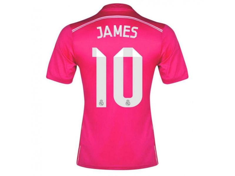 430c6dd30f521 Camiseta Real Madrid Adidas James 2015 Segunda Equipacion  Adidas ...