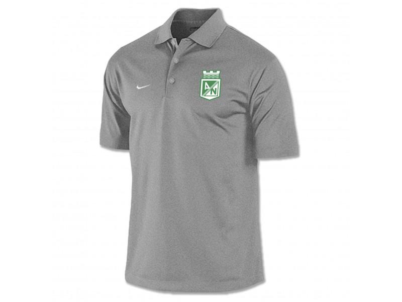 Camiseta Tipo Polo Gris Nike 2015 Precio Especial  567688 Atlético ... 9128a97891c80
