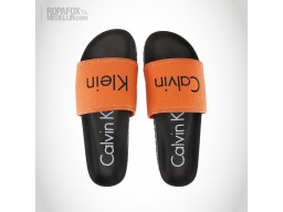 Imagen Chanclas Calvin Klein Pepito Orange/Black