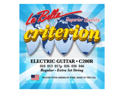 Imagen ENCORDADO CRITERION LA BELLA C200R GUITARRA ELECTRICA .10