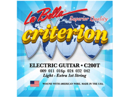 Imagen ENCORDADO LA BELLA CRITERION C200T GUITARRA ELECTRICA