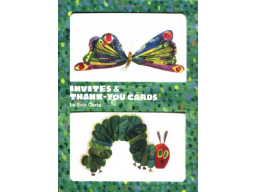 Imagen Eric Carle Caterpilar and Butterfly Invites and Thank-you Cards