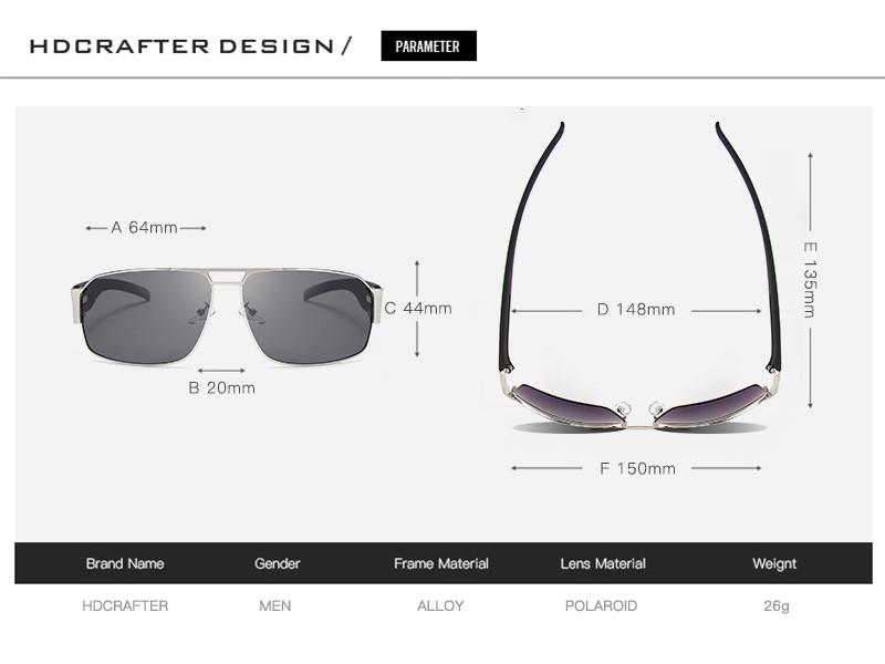 Gafas Lentes Sol Polarizado HDCRAFTER 8462  PS1551 Compra con ... 9b325f4e89b4