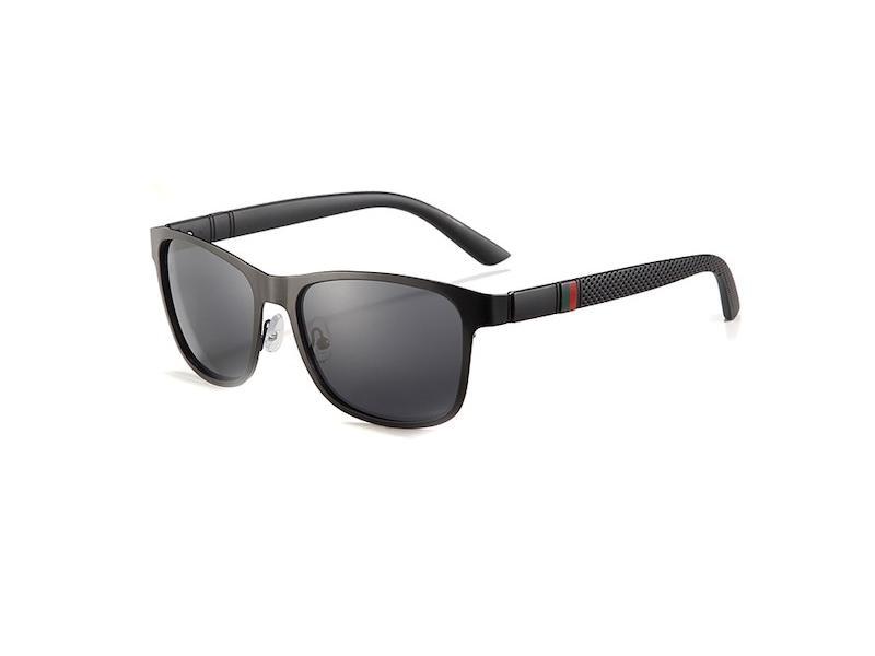 Hombres Lentes Sol Metal 309 Polarizados C2 Gafas Negro qSVLMpzUG