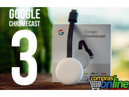 Imagen Google Chromecast 3ra Generación Netflix Youtube Smart tv
