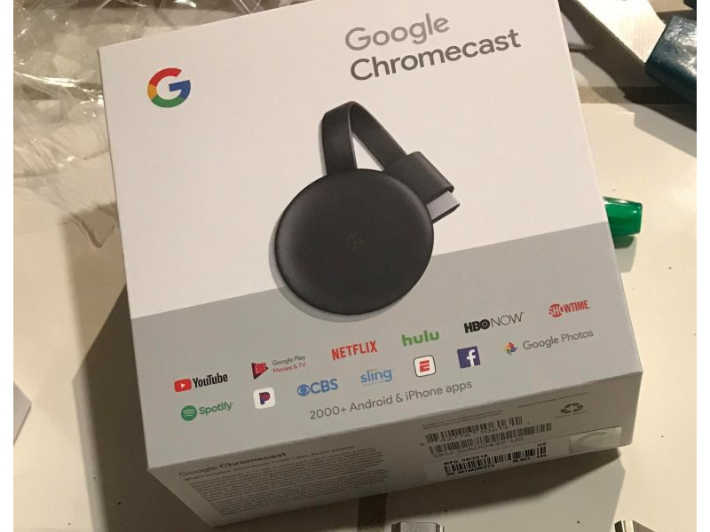 Imagen Google Chromecast 3ra Generación Netflix Youtube Smart tv 3