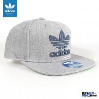 Gorra Adidas Originals Chain Gris Azul  REF 01169 b360b1aa827