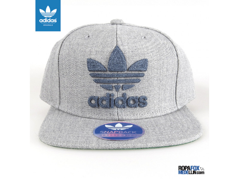 Gorra Adidas Originals Chain Gris Azul  REF 01169 0bec6223672