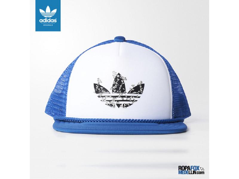 Gorra Adidas Originals H Trucker Cap Azul   Blanca  Ref 01627 dc111005394