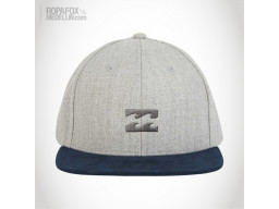 Imagen Gorra Billabong All Day Heat (Snapback Con Broche Ajustable) Grey/Blue