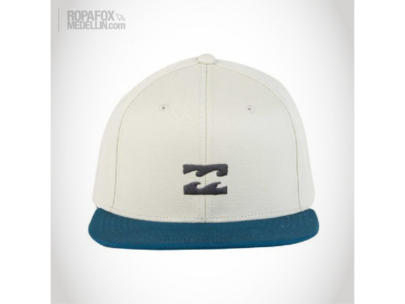 Imagen Gorra Billabong All Day (Snapback Con Broche Ajustable) Beige/Blue 1