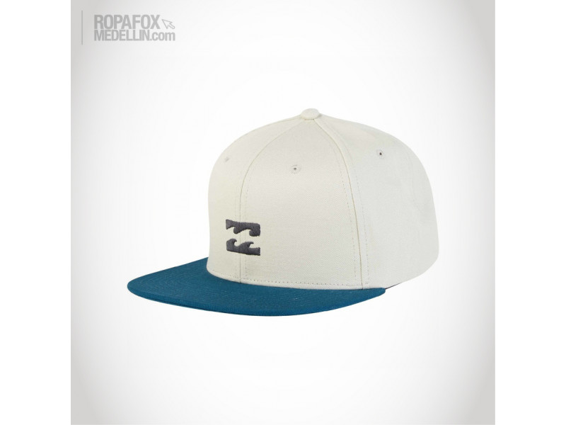Imagen Gorra Billabong All Day (Snapback Con Broche Ajustable) Beige/Blue 2