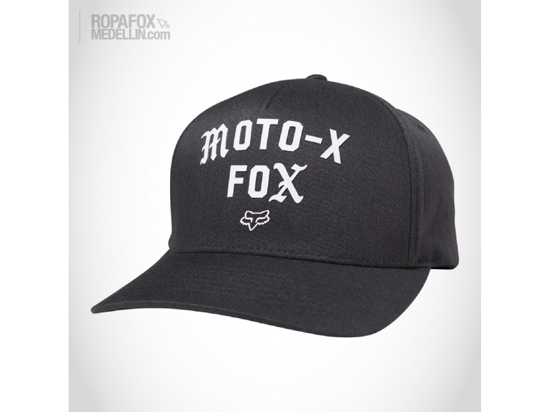 Imagen Gorra Fox Out Ahead (Flexfit Cerrada) Black/White 1