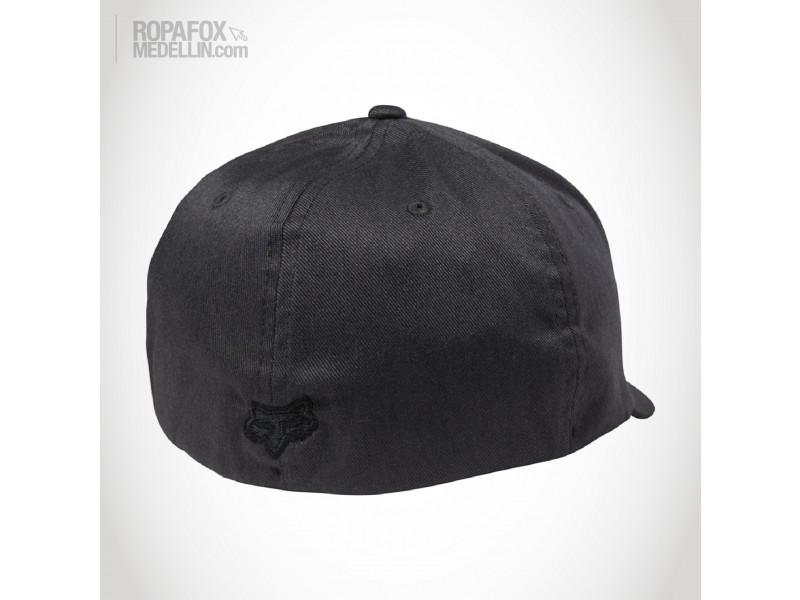 Imagen Gorra Fox Out Ahead (Flexfit Cerrada) Black/White 2