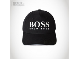 Imagen Gorra Hugo Boss Compare (Con Correa Ajustable) Black/White