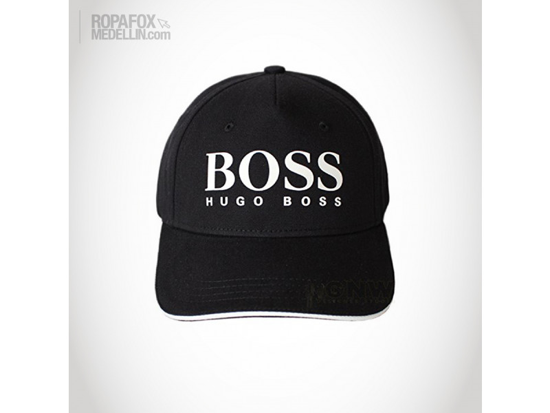Imagen Gorra Hugo Boss Compare (Con Correa Ajustable) Black/White 1