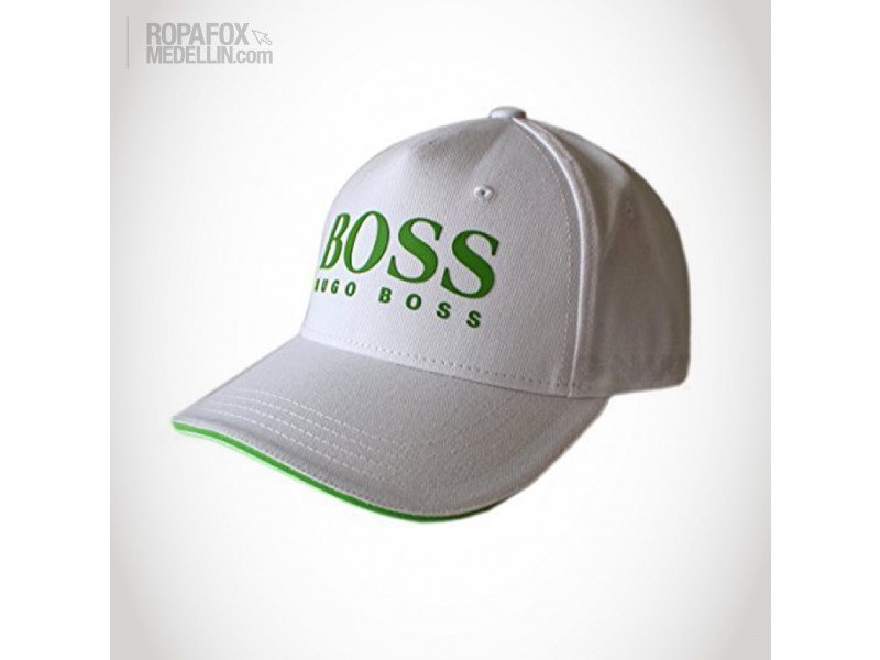 Imagen Gorra Hugo Boss Compare (Con Correa Ajustable) White/Green 1