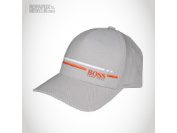 Imagen Gorra Hugo Boss Stripe (Con Broche Ajustable) Beige/Orange