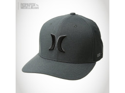 Imagen Gorra Hurley Drifit Heather (Flexfit Cerrada) Grey/Black