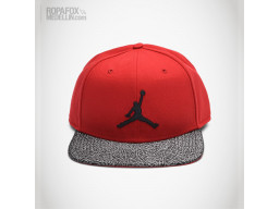 Imagen Gorra Jordan Tiger (Snapback Con Broche Ajustable) Red/Grey