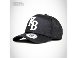 Imagen Gorra Kings Bred Kb (Con Broche Ajustable) Black/White