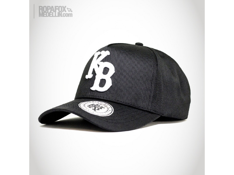 Imagen Gorra Kings Bred Kb (Con Broche Ajustable) Black/White 1