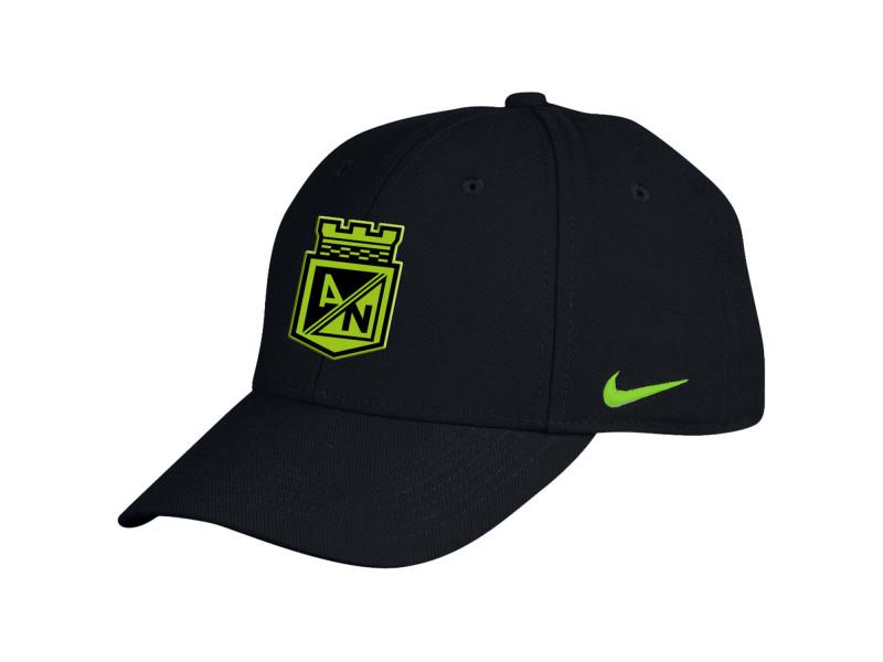 Gorra Negra Nike 2016  896577346 Atlético Nacional 6fe7b4c47a1