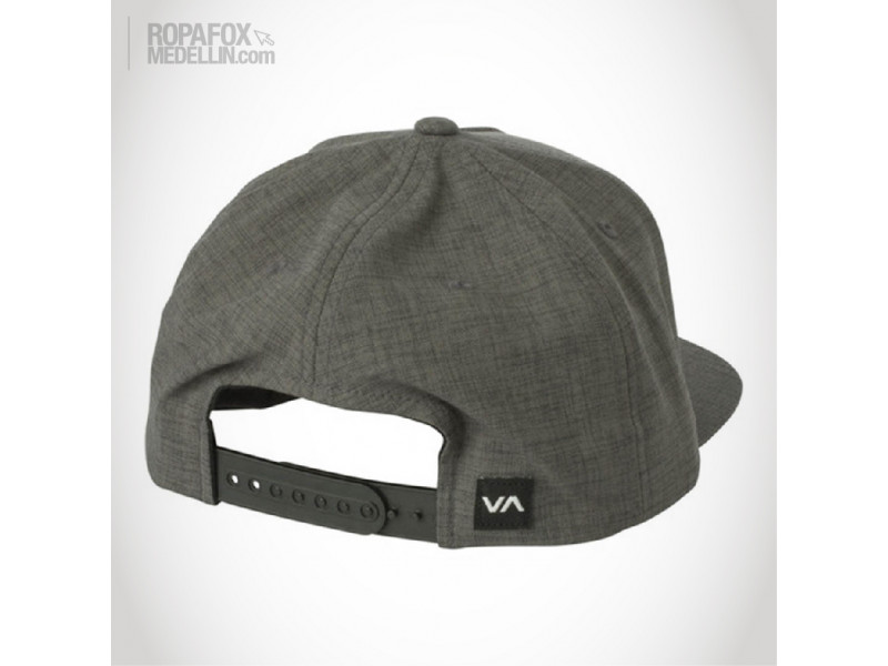 Imagen Gorra Rvca Common Wealth (Snapback Con Broche Ajustable) Grey/Brown 2