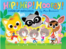Imagen Hip! Hip! Hooray! Stand-Up Notecards