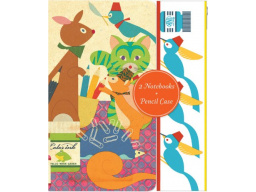 Imagen Imagination Runs Wild: Notebooks and Pencil Case set