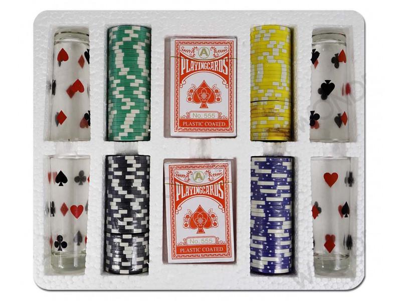 Blackjack table topper