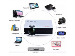 Imagen Proyector Video Beam Led Alto Brillo 800 Lumens Hdmi