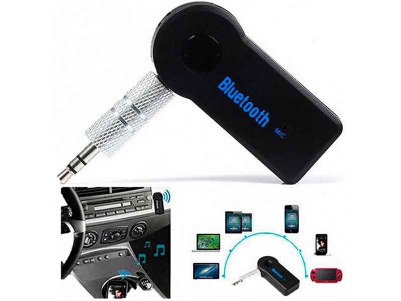 Imagen Receptor Bluetooth 3.5mm Audio Auxiliar Bateria Recargable 1