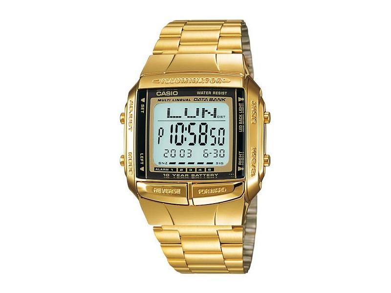 e4514677d531 Reloj Casio Unisex Dorado Db 360. Telememo 30. 100% Original  Db 360G