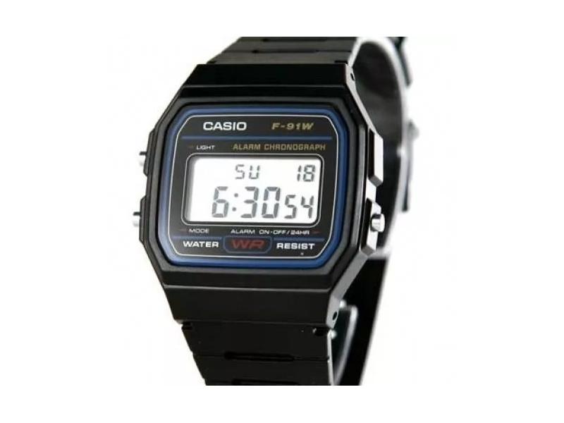 c89ee192c8b2 Reloj De Pulso Casio F-91w Original Hombre  F-91w